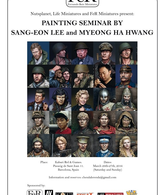Updates on the upcoming painting seminars