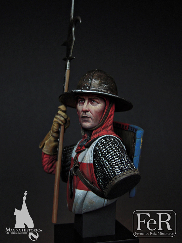 English Man-at-Arms, Crecy, 1346 - Ferminiatures.com