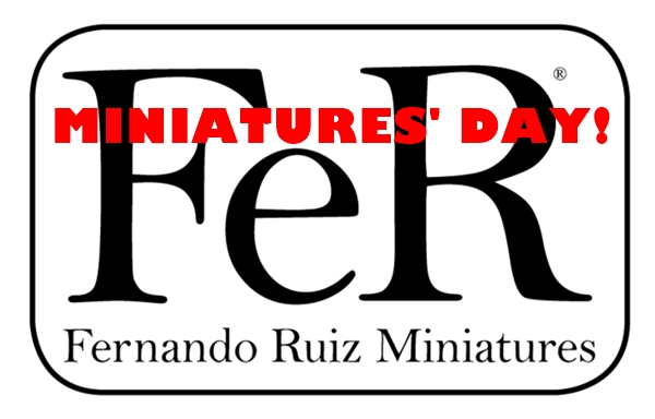 While the rest of the world is on holidays… the MINIATURES' DAY is back!
